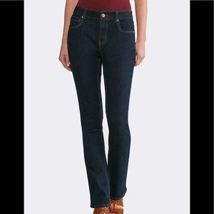 Vigoss Collection Dark Straight Jeans Size 14 32